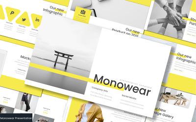 Monowear - Google Slides