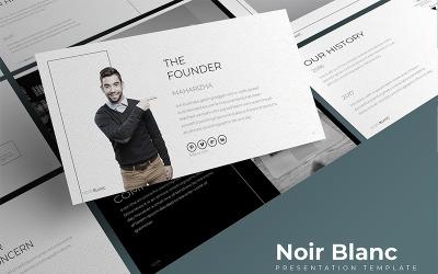 Noir Blanc - - Keynote template