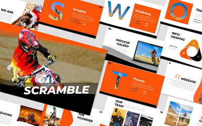 Scramble - - Keynote template