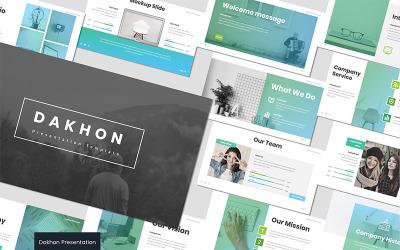 Dakhon - - Keynote template