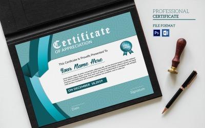 Sistec Certificate Template
