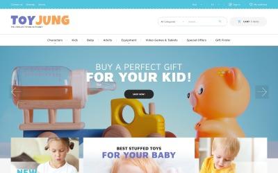ToyJung - Plaything Store Bootstrap Ecommerce Clean PrestaShop Teması