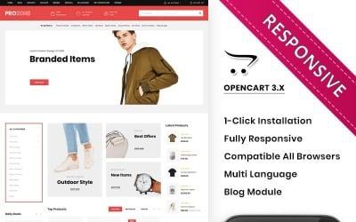 Prozone - The Mega Store Responsive Premium OpenCart Template