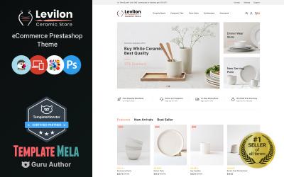 Levilon - téma PrestaShop s keramikou a řemesly