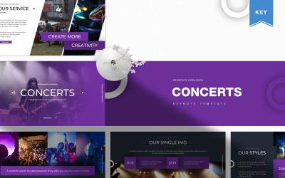 Concert - Keynote template