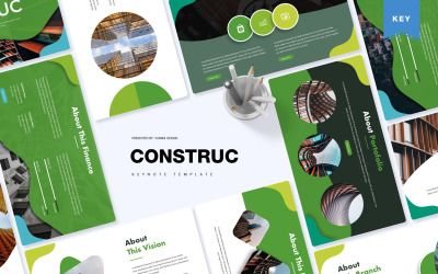 Construct - Keynote template