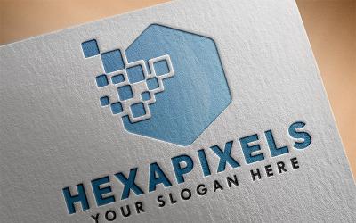 Hexa Pixels Logo Template