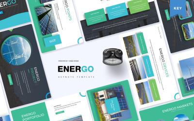Energo - šablona Keynote