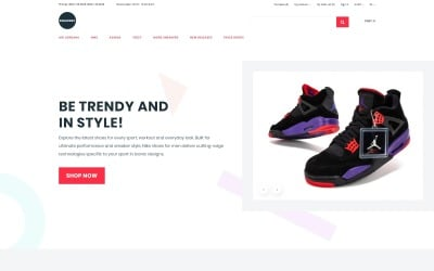 Sneakers - Shoe Store eCommerce Clean OpenCart Template