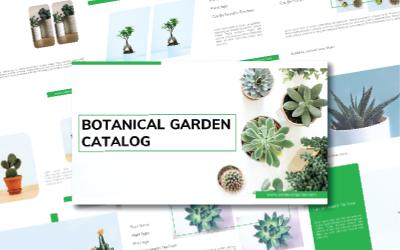 Botanical Google Slide Template Google Slides