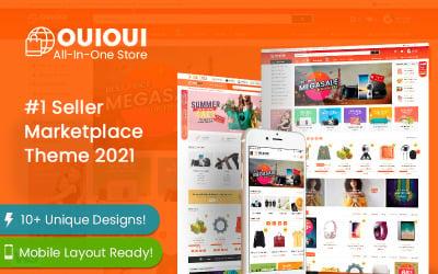 OuiOui - Multi Vendor MarketPlace Elementor WooCommerce-tema