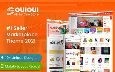 OuiOui - Multi Vendor MarketPlace Elementor WooCommerce Theme