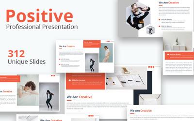 Positive - Keynote template
