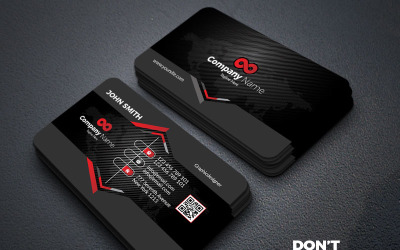 Professional High Quality Business card - Corporate Identity Template