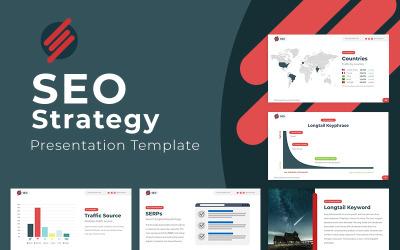 SEO Strategy Keynote - Keynote template