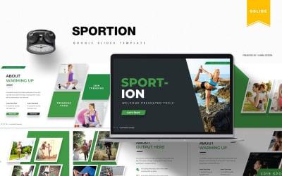 Sportion | Google Slides
