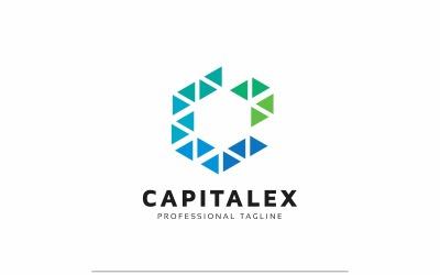 C Letter - Hexagon Polygon Logo Template