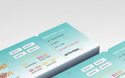 Event Ticket - Corporate Identity Template