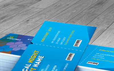 Water Cleen Event Ticket - Corporate Identity Template