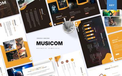 Musicom - Keynote template