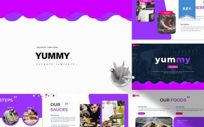Yummy - Keynote template