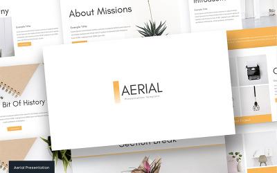 Aerial - - Keynote template