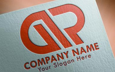GR Letter Logo Template