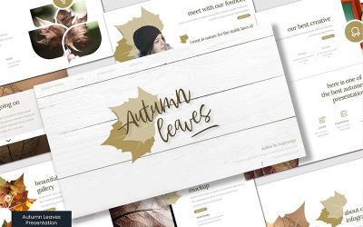 Autumn Leaves - Google Slides