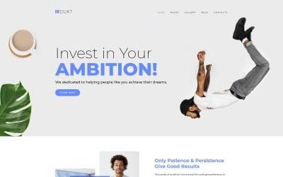 Edukt - Education Multipage Creative Joomla Template