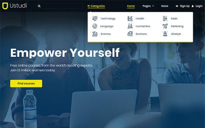Ustudi - Online-Kurse Bildung & Universität WordPress Theme