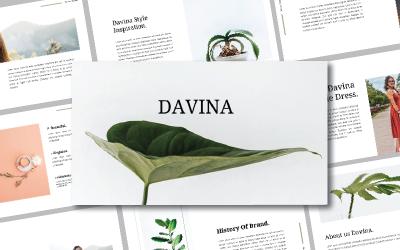 DAVINE - Keynote template