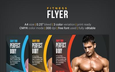 Fitness Flyer Design - Corporate Identity Template