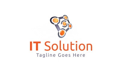 IT Solution Logo Template