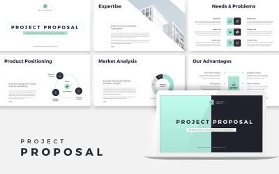 Proposition de projet Business Plan Google Slides