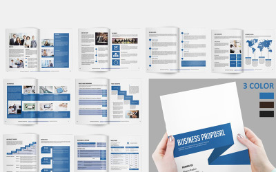 Sistec Business Proposal - Corporate Identity Template