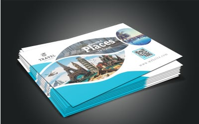 Travel Business Card - Corporate Identity Template