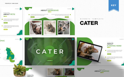 Cater - Keynote template