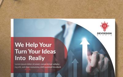 Devdesign Malti Purpose Flyer - Corporate Identity Template