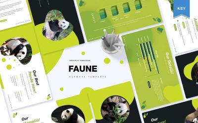 Faune - Keynote template