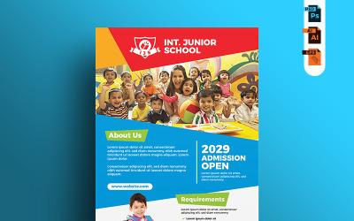 Junior School Admission - Corporate Identity Template