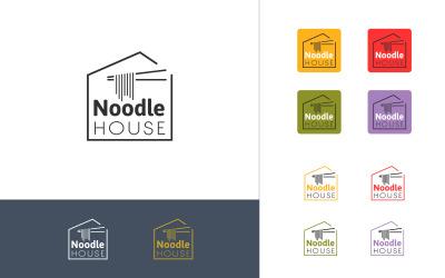 Noodle House Logo Template