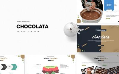 Chocolata - šablona Keynote