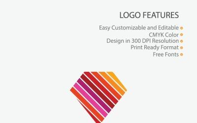 Colorful Diamond Logo Template