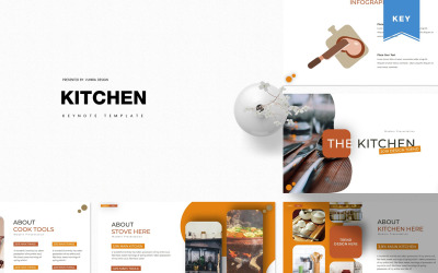 The Kitchen - Keynote template