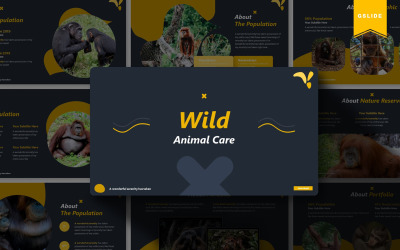 Wild Animal Care | Google Slides