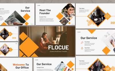 Flocue Business - Keynote template