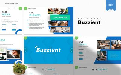 Buzzient - Keynote template