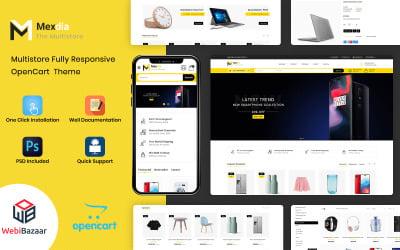 Mexdia - Multipurpose OpenCart Template