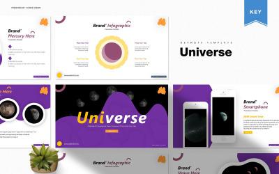 Univerzum - Keynote sablon