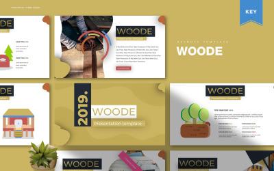 Woode - Keynote template